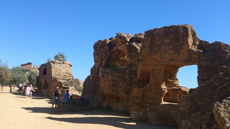 раннехристианское кладбище