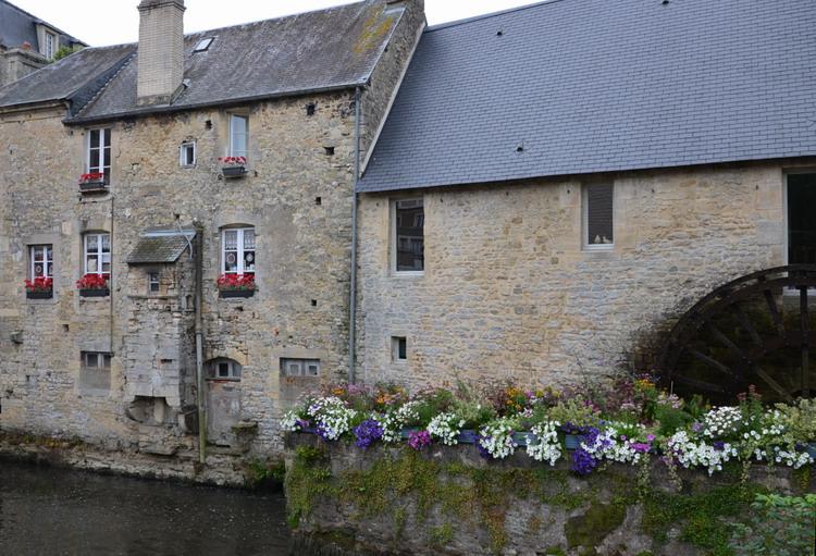 мельницы на реке орн