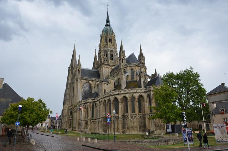 Байе кафедральный собор Нотр-Дам