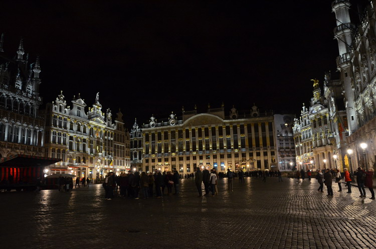 Брюссель. Гранд-пляс