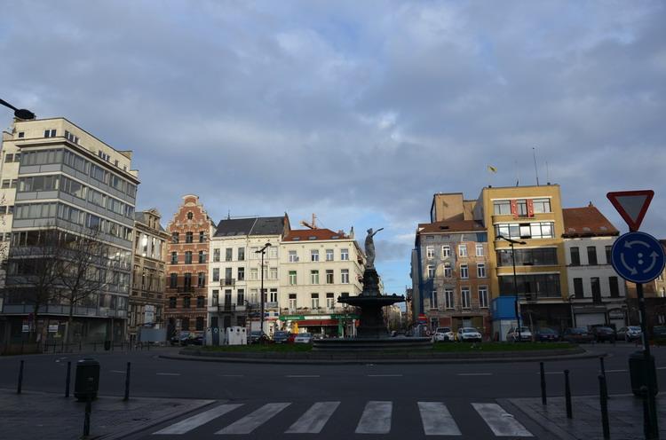 Брюссель, площадь Руп