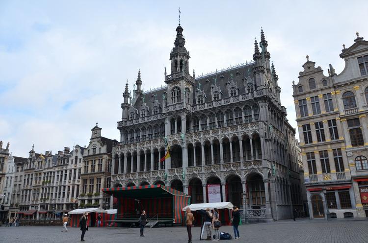 Брюссель, гранд-пляс
