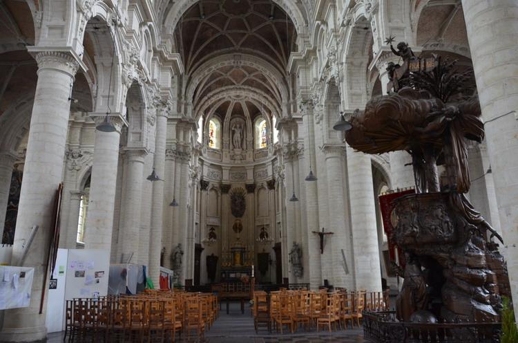 Брюссель. церковь Иоанна Крестителя на Бегинаже