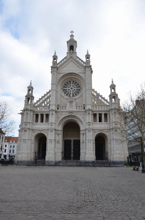 Брюссель, церковь Св. Екатерины
