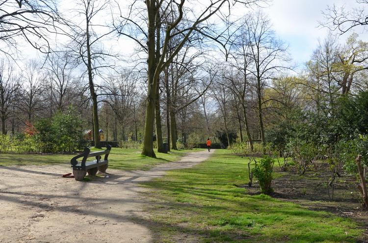 Брюссель, парк
