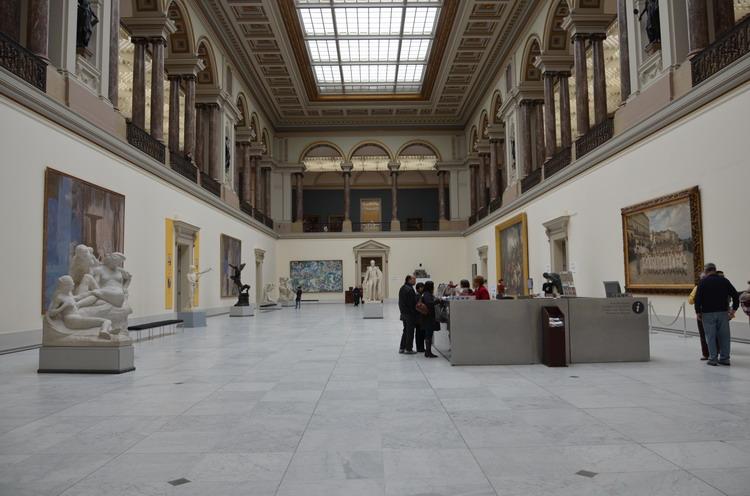 Брюссель Музей изящных искусств