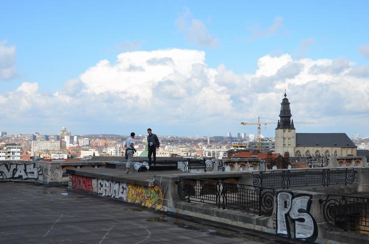 Брюссель, смотровая площадка