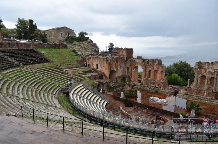 Таормина. Древнегреческий театр