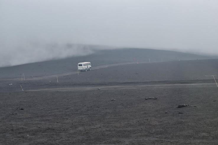 Этна. Подъем на внедорожниках