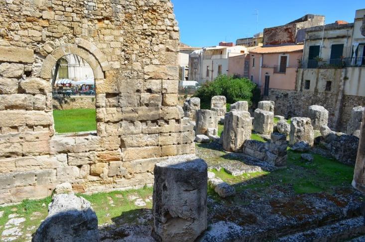 Сиракузы. Храм Аполлона