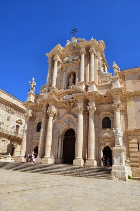 Сиракузы. Кафедральный собор