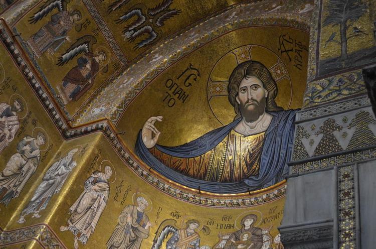мозаика Христос Пантократор в Монреале
