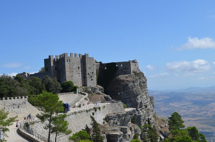 Эриче замок Дианы