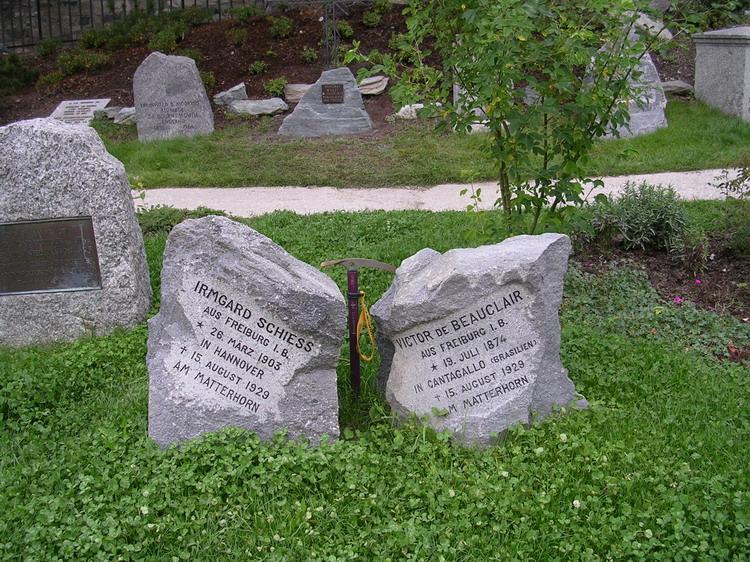Кладбище альпинистов в Церматте
