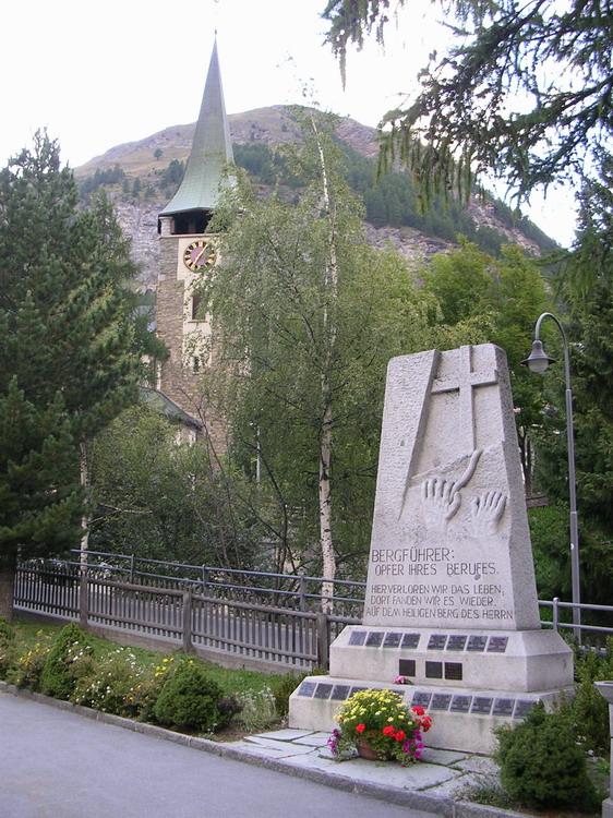 Кладбище в Церматте