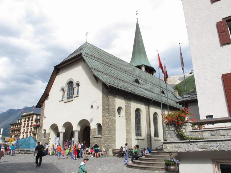 Церковь в Церматте