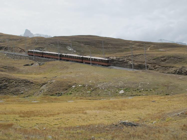 Поезд на Горнерграт