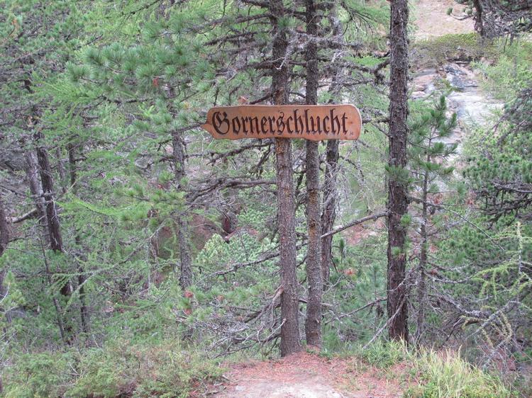 Церматт каньон Горнешлюхт