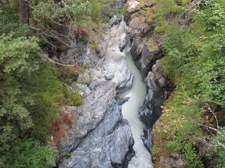 каньон Горнешлюхт