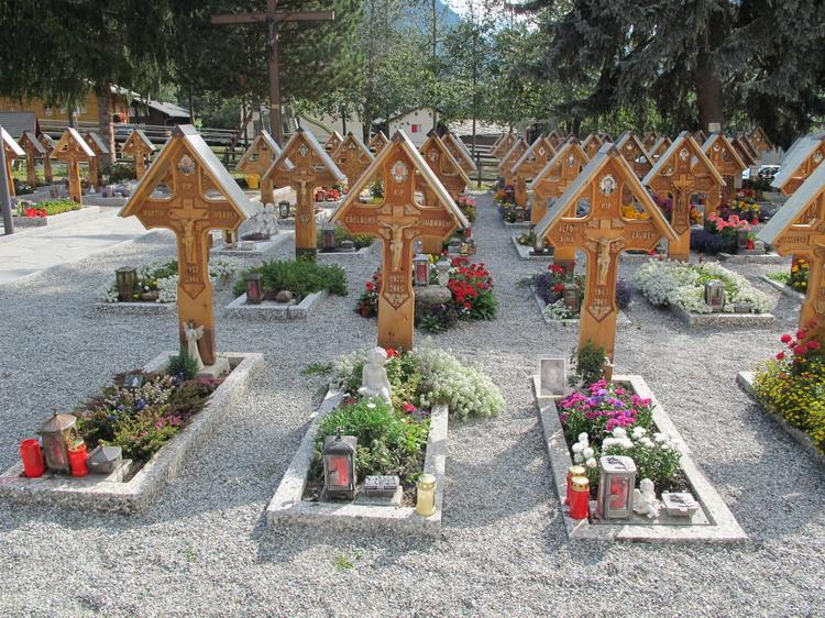Кладбище в Тэше