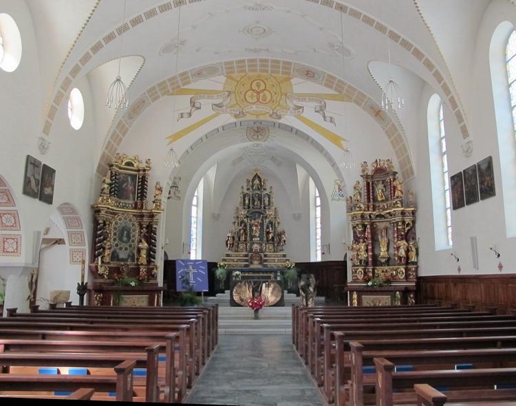 Церковь в Тэше