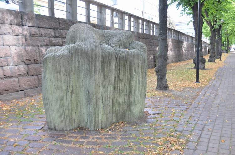 Котка, променад современной скульптуры