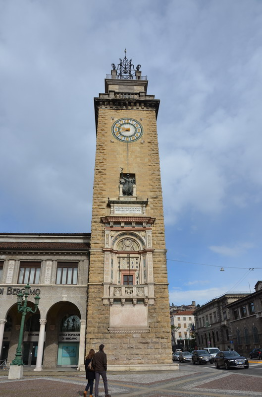 Бергамо, башня