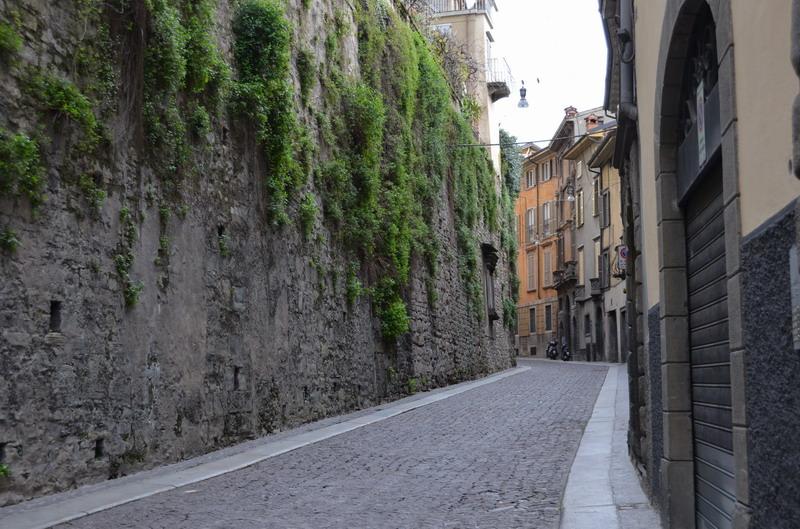 Бергамо, Верхний город