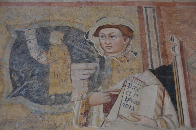 Бергамо, фреска