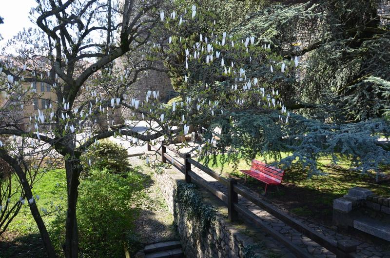 Парк около крепости Ла Рокка