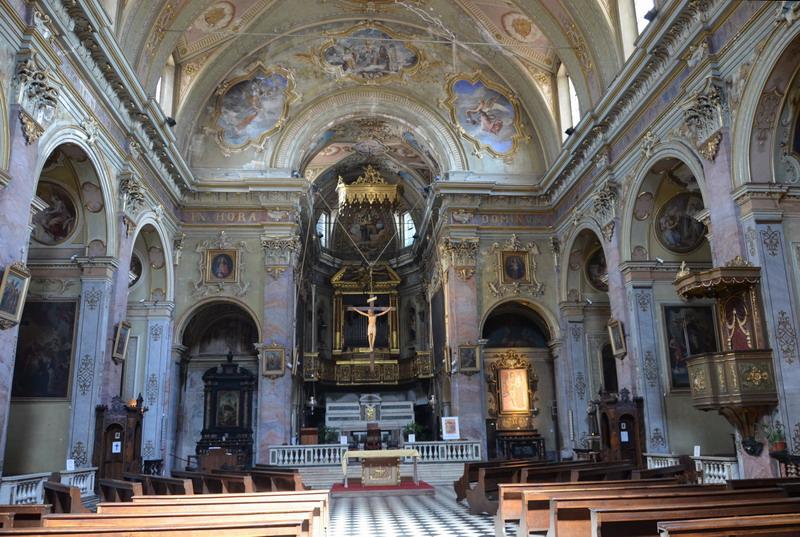 Бергамо, церковь святой Агаты в Кармине