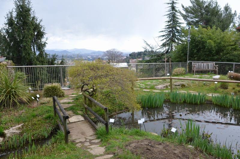 Бергамо, ботанический сад