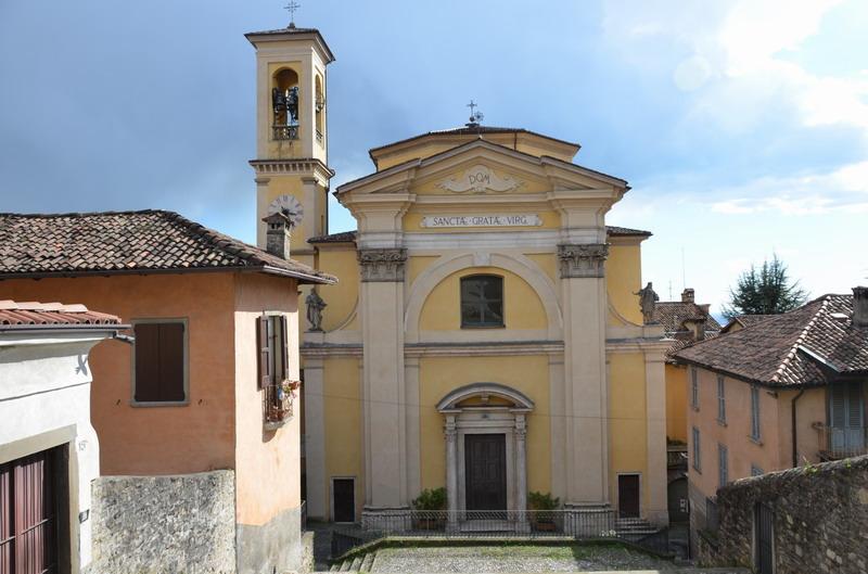 Бергамо, церковь Св. Граты