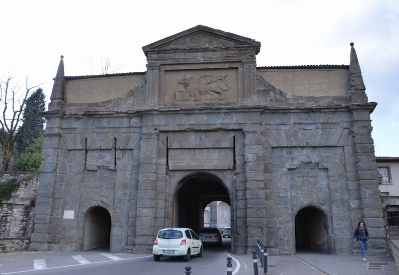 Бергамо, ворота Св. Августина