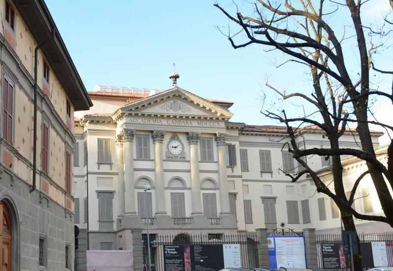Бергамо, академия Каррара
