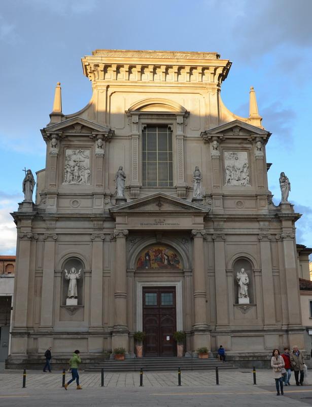 Бергамо, церковь Св. Батроломео