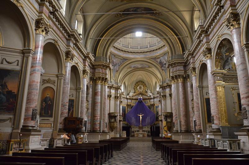 церковь Сан-Алессандро ин Колонна