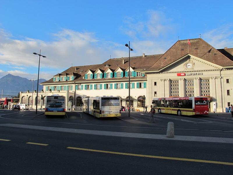Вокзал в Туне