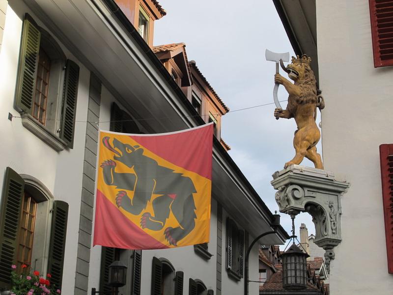 Тун, на улице Obere Gauptgasse