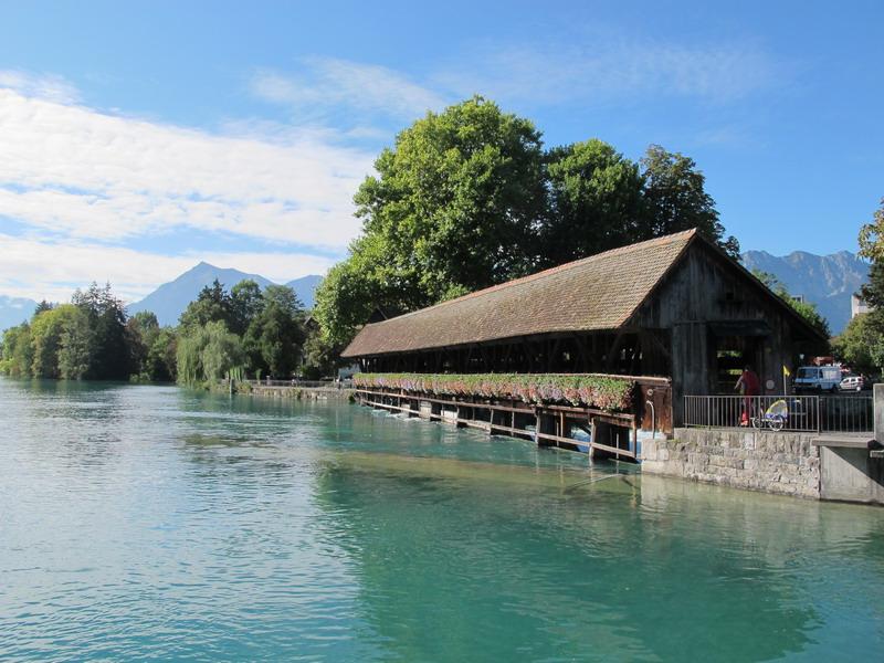 Тун (Thun), река Ааре