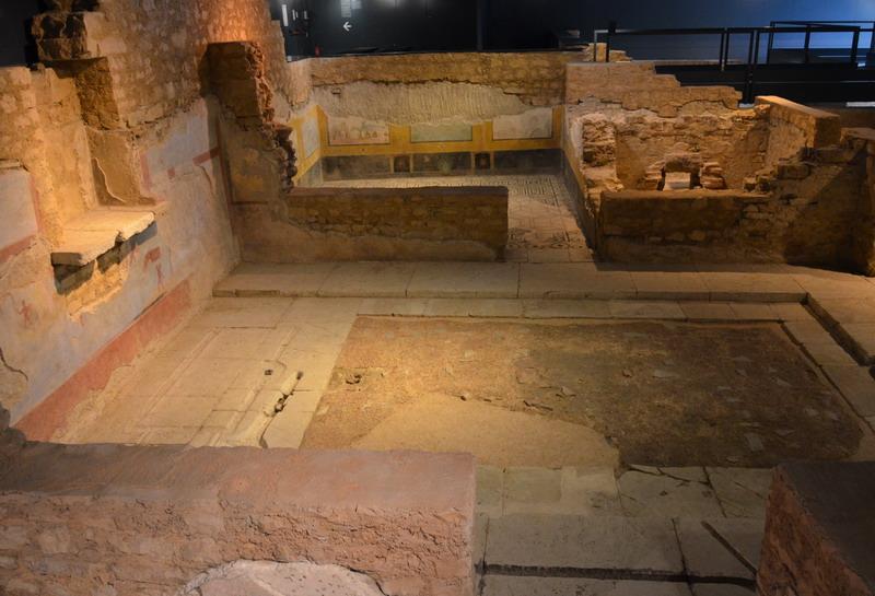Брешиа, остатки римской виллы