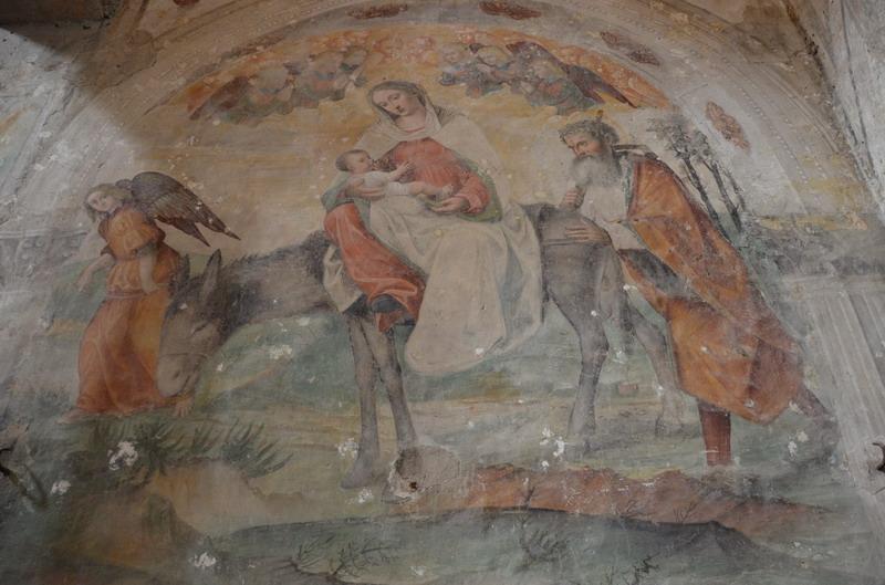 Фрески в церкви Сан-Сальваторе