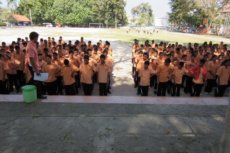 ученики тайской школы