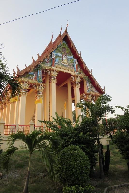 буддийский храм в Паттайе