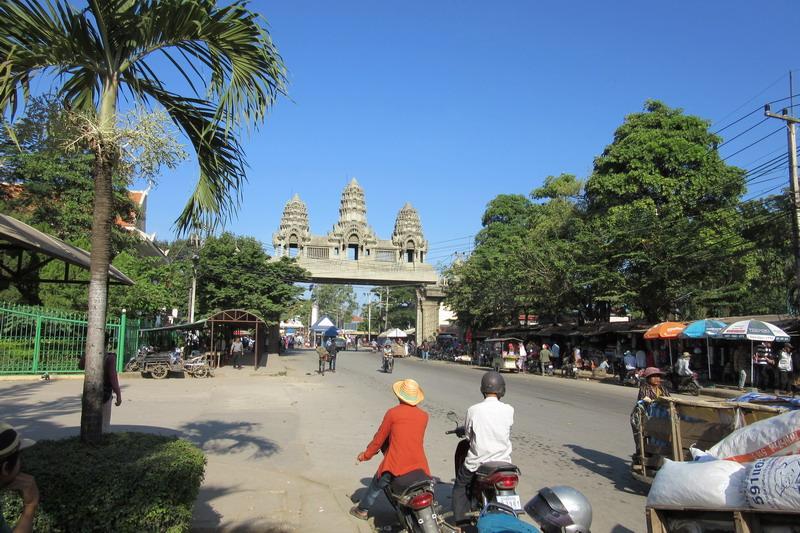 Камбоджа, пограничный переход