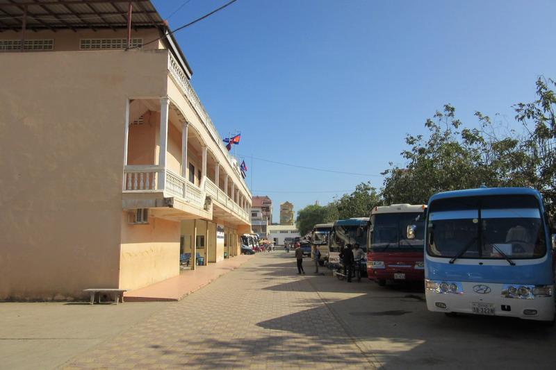 Камбоджа, Пой Пет, автовокзал
