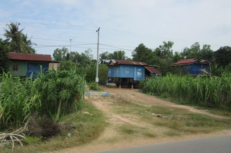 Камбоджа, крестьянский дом