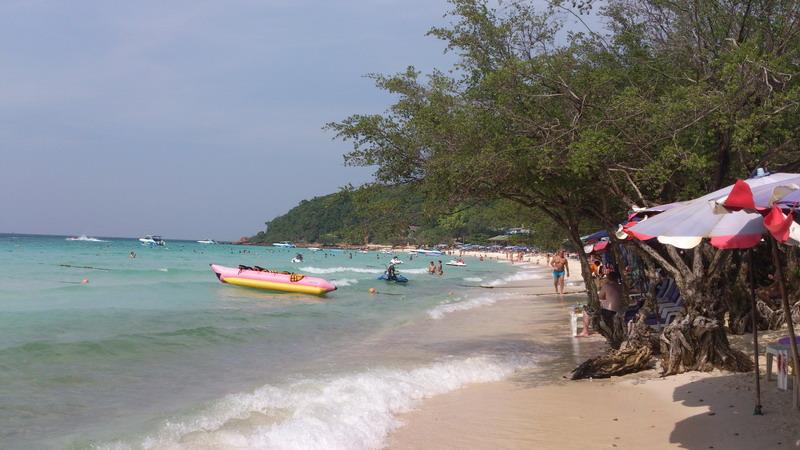 пляж Тиен на острове Ко Лан