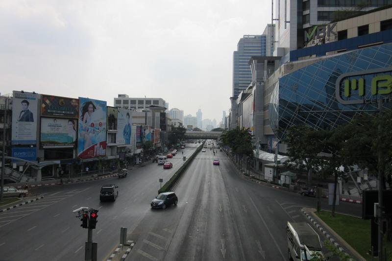 Бангкок, улица Рамы 1