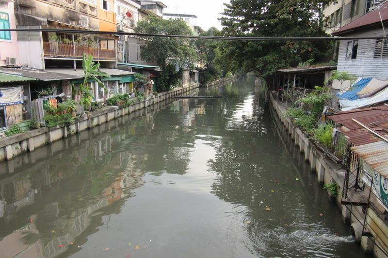 Бангкок, клонг